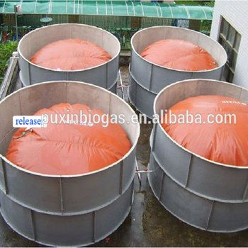 Reinforced Portable and Flexible Bladder Tank Biogas Storage Bag