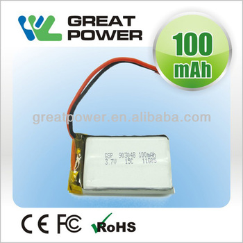 Factory directly selling IEC UN standard polymer lithium ion battery