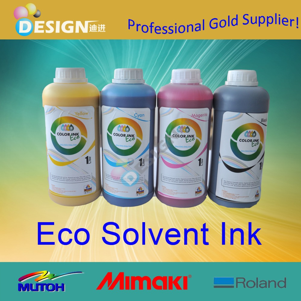 dx4 dx5 dx7 factory supply eco solvent universal eco ink
