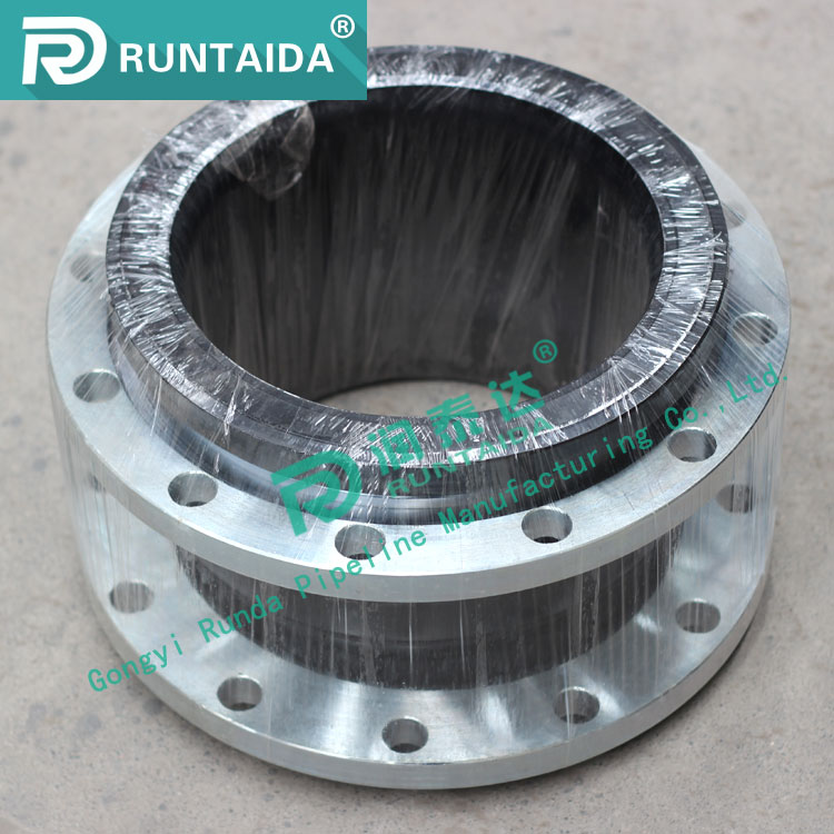 Carbon steel glavanized flange type rubber bellows expansion joint