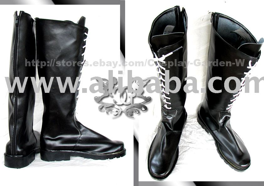 Final Fantasy FF Yuna Boots Cosplay Costume