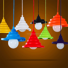Modern Colorful Pendant Lighting E27 Lamp Holder Silicone Ceiling Pendant Lamp