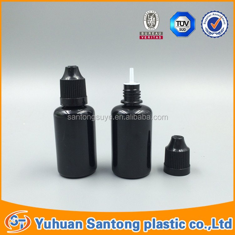 Zhejiang manufacturer 30ml vape bottle for e-cig oil