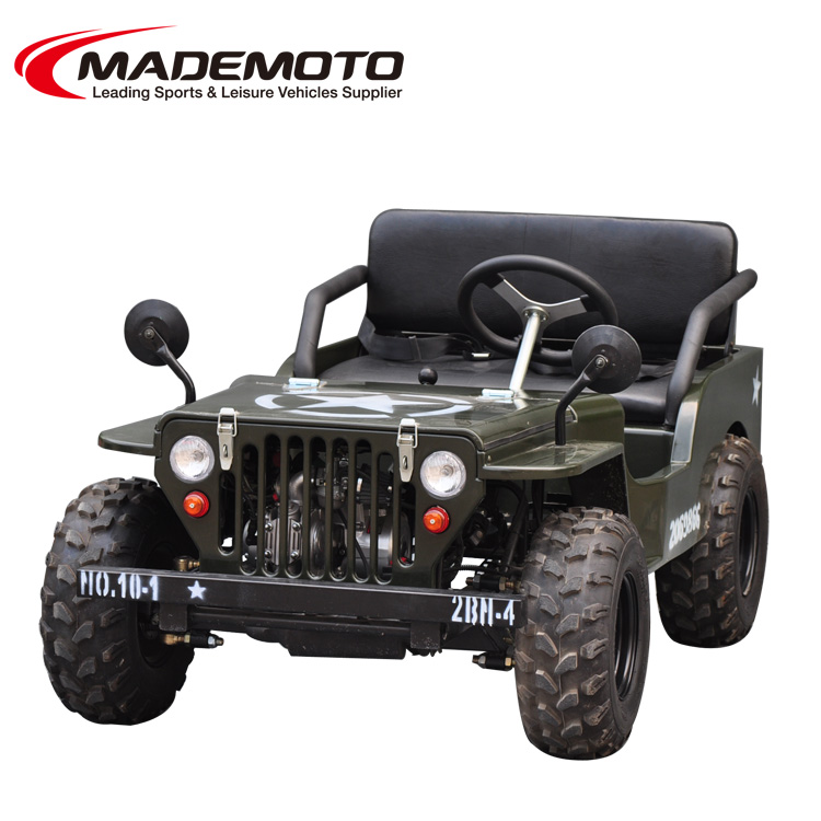 150cc CE available US army style gasoline engine ATV 2016 new for sales cvt 7 inch sealed headlight for mini jeep
