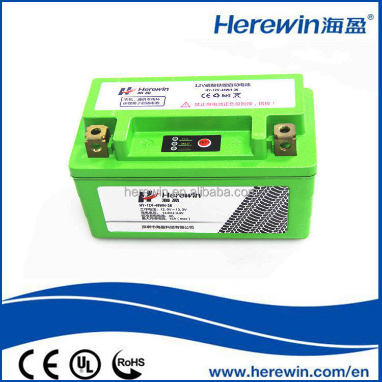 12V 4ah lithium ion LIPO power supply battery pack for Ebike,golf car,motocycle