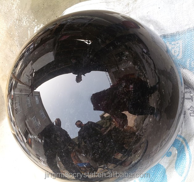 Alibaba Wholesale Custom Sized Hand Carved Obsidian Stone Sphere ball