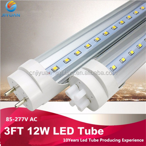 16w 4ft 1200mm glass filber board aluminum housing 100-277V T8 ETL LED Linear Light Tube