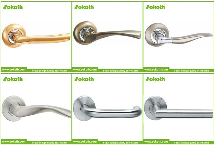 Zinc alloy fancy hardware handles interior door handle chrome dubai door handles buy dubai for Different types of interior door locks