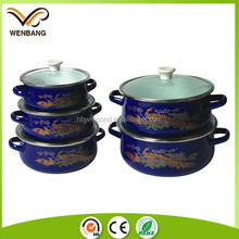 vintage magic design high quality metal non-stick cookware