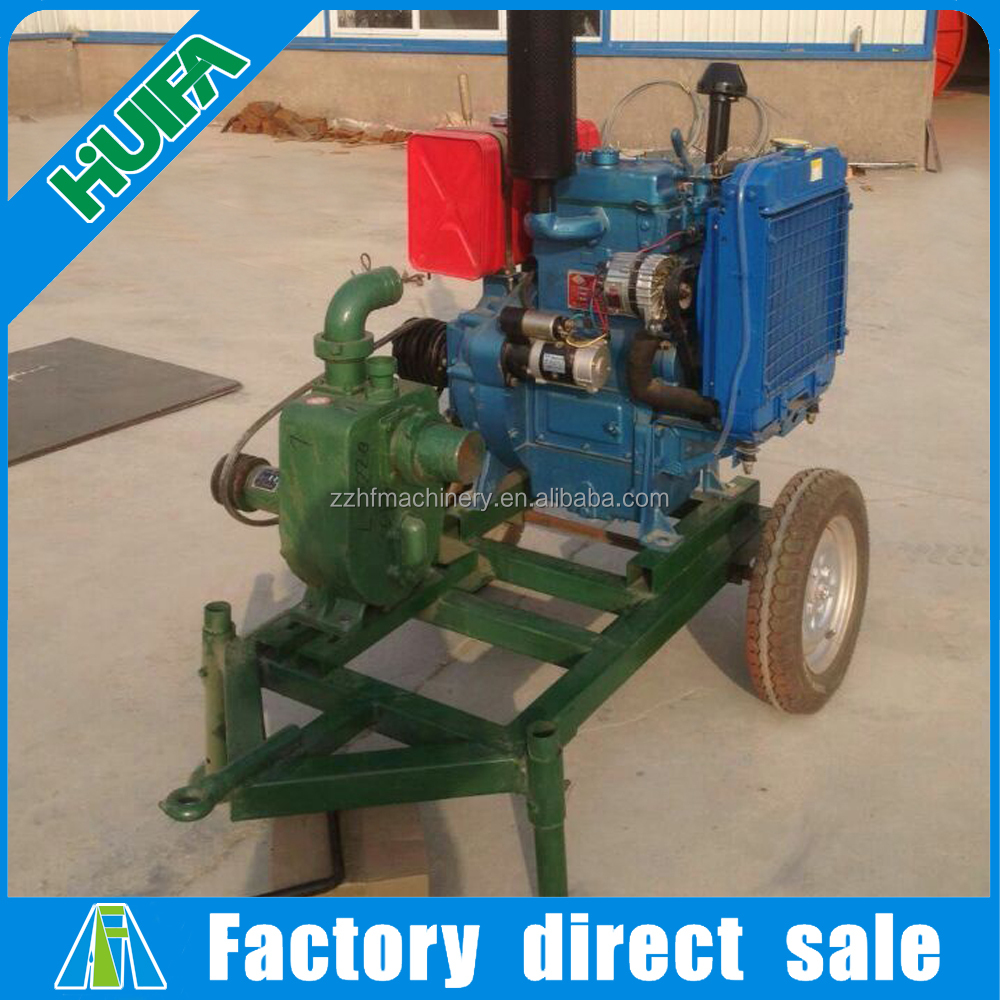 Safe Operate Agricultural Diesel Engine farm Irrigation Water Pump