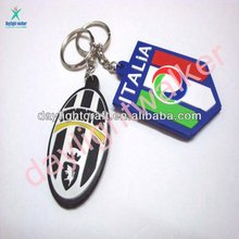 2011 Top Newest 3D Soft Pvc key chain