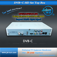 High Speed set top box digital tv cable receiver