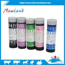 2016 NL622 hot sales new type animal identifications marking crayon for animal paint