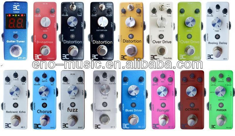 Proffesional Mini Distortion Guitar Pedal With High Accuracy Wah Wah Pedal True Bypass ENO Guitar Effects Pedal