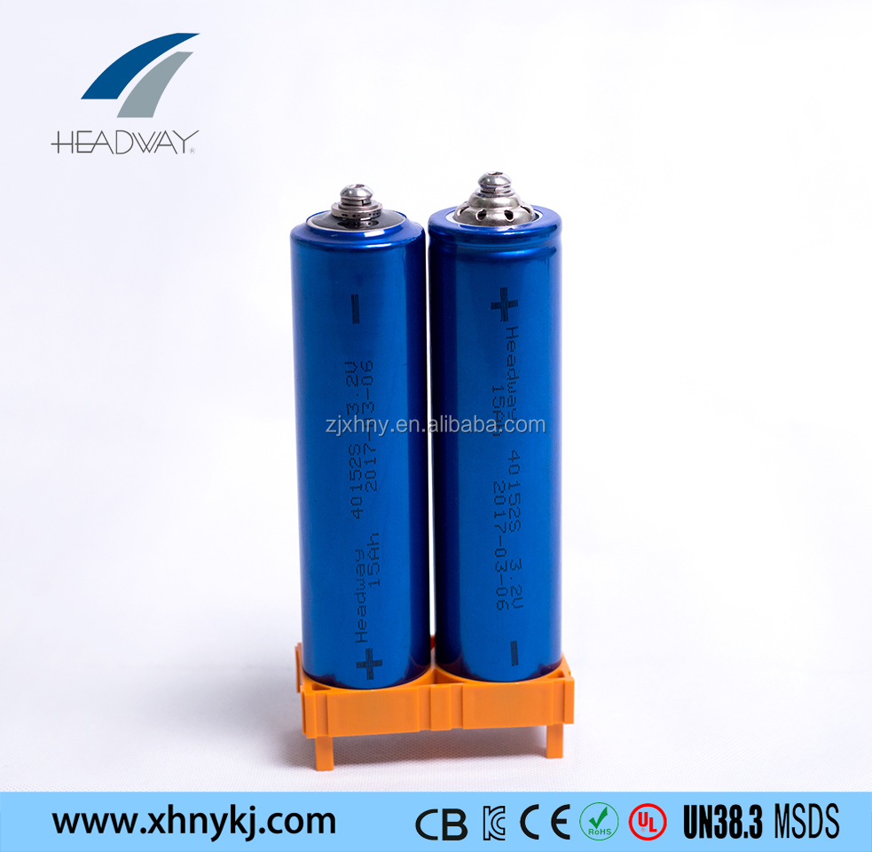 Headway lithium li-ion lifepo4 battery 40152S 3.2V 15AH cell for marine system