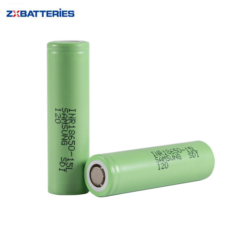 Authentic SDI INR18650-15L 3.7V 18650 1500mah Battery Inr18650 15L 1500mah For Samsung