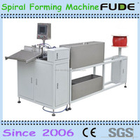 Enwironment PVC plastic wire spiral , plastic single loop wire forming machine
