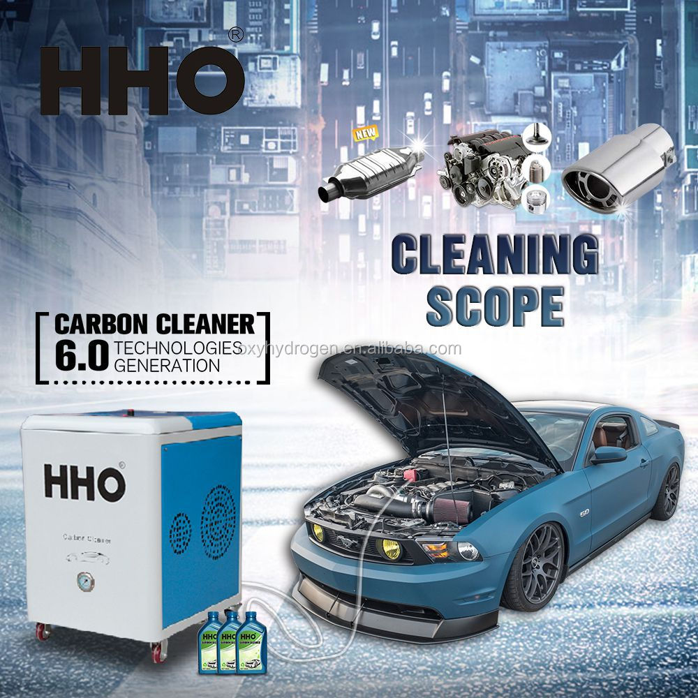 HHO Car carbon cleaning mobile steam car wash machine