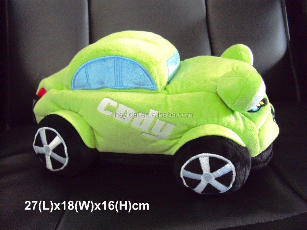 Plush Green color car toy