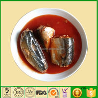 Normal Open Lid Chinese Canned Mackerel Food Supplier