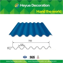 China low cost metal roofing tile YX35-125- 750mm