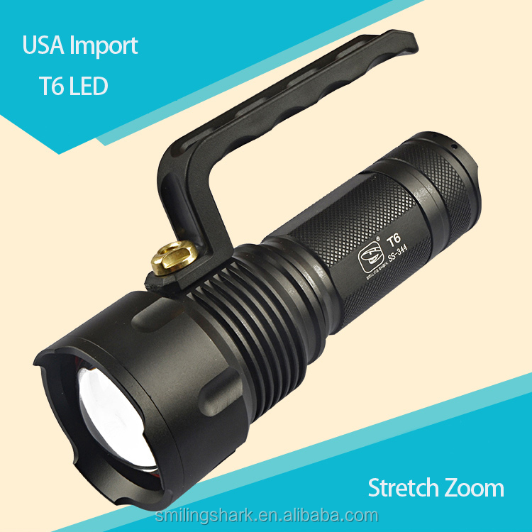 Rechargeable portable LED explosion proof handle flashlight , flame proof LED handle torch light