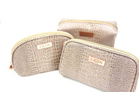 Luxury cosmetic bags, Airline & hotel travel amenity Kits, Promotional Bags