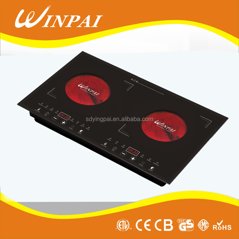 tempered glass electric hobs ceramic