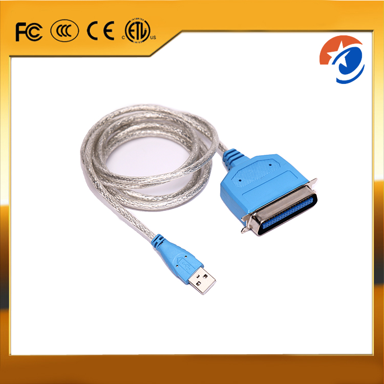 High quality USB to Parallel 1284 adapter , USB printer cable EL-0366