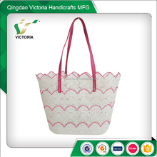 2017 fashion lace beach bag