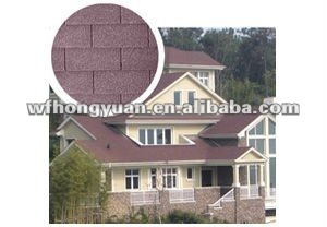 Fiberglass asphalt roofing shingle