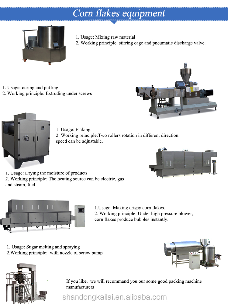 Fully Automatic High Quality Hot Sale Breakfast Cereals Making Machine