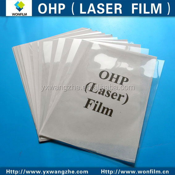 OHP <strong>film</strong> and colorful inkjet <strong>film</strong> for inkjet printer and laser printer