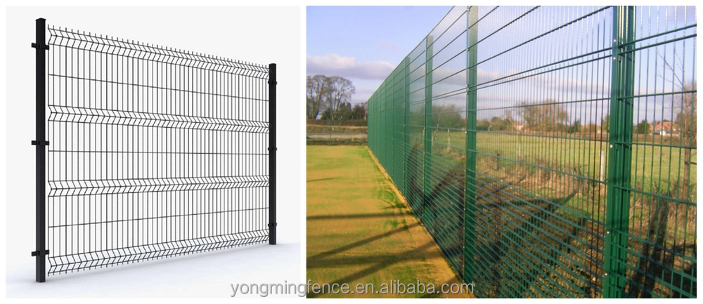 Construction guard ornamental steel fences