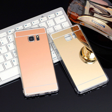 Luxury Ultra Thin Mirror Soft TPU case For Samsung Galaxy S6 S7 Edge S8 Plus