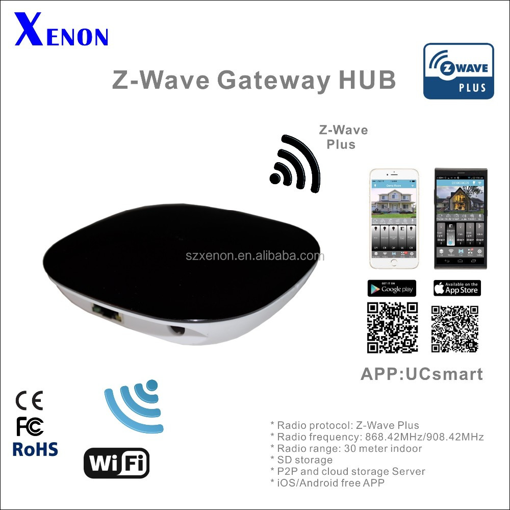 Zwave home automation gateway, comply with Z-wave, Bluetooth, Zigbee,WIFI
