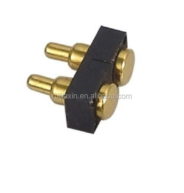 3.5mm brass gold plating pogo pin,spring loaded pogo pin for 4 PIN connector
