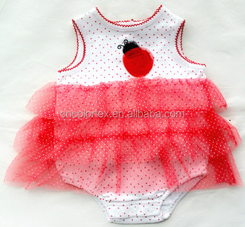 Baby Girls Sleeveless TuTu Skirt and Bodysuit