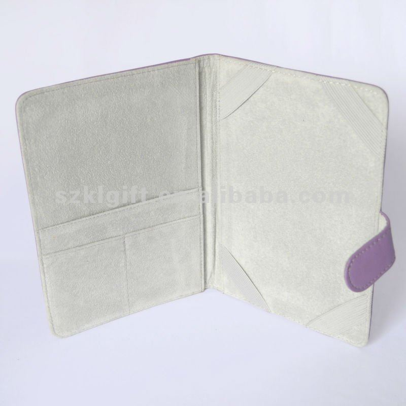 Purple PU Leather Tablet Pc Case