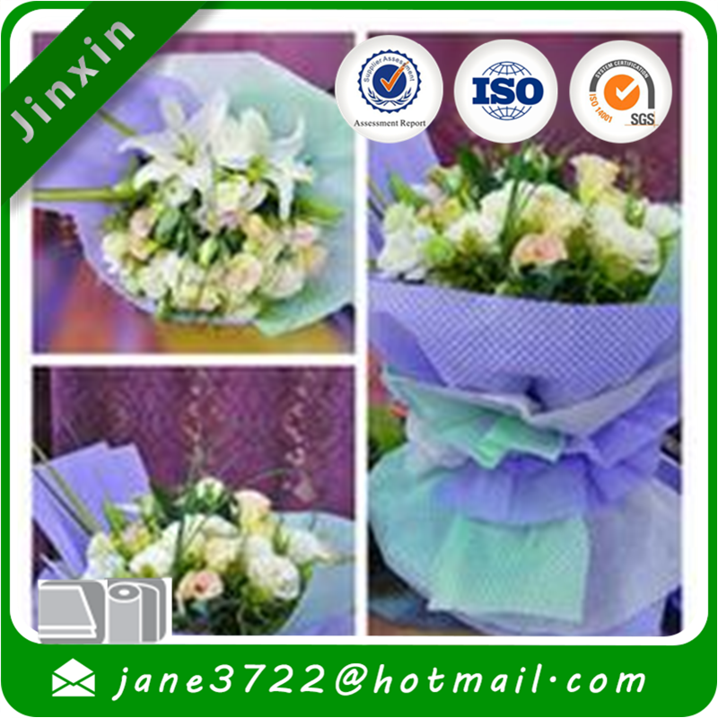 Eco Friendly PP Non Woven Fabric for flower wrapping paper