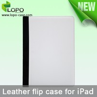 New Printable Blank sublimation leather cover for ipad air 2