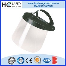 PC full clear anti fog heat protection helmet safety face shield