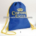 Good quality plain drawstring bags for fashion youth