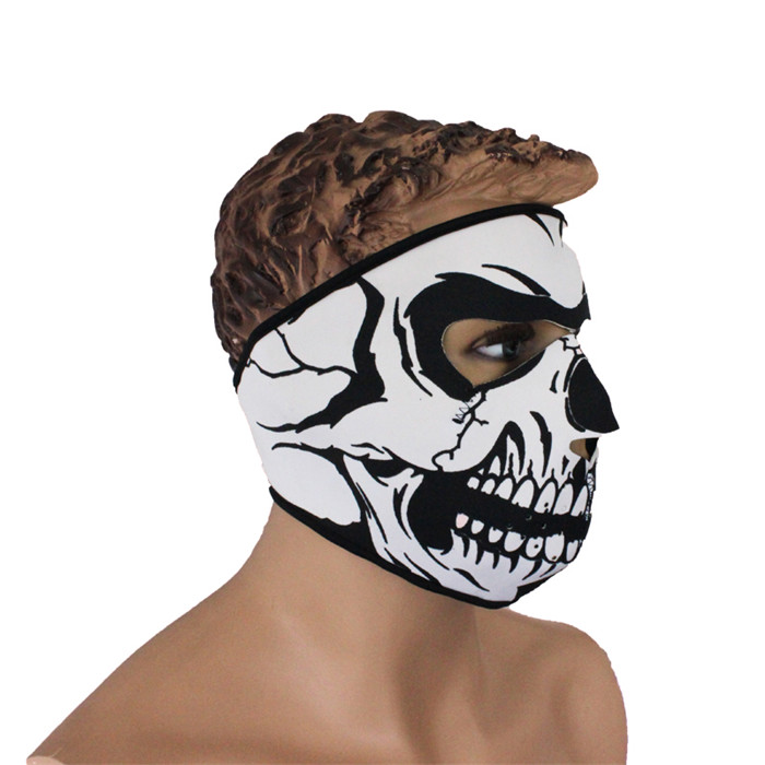 2015 New Skeleton Ghost Outdoor Bone Sport Bicycle Bike Cycling hunting Golf Ski Hat Balaclava Snowboard Protect Full Face Mask