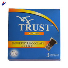 Best Quality Chocolate Flavored Male Condoms With Picture