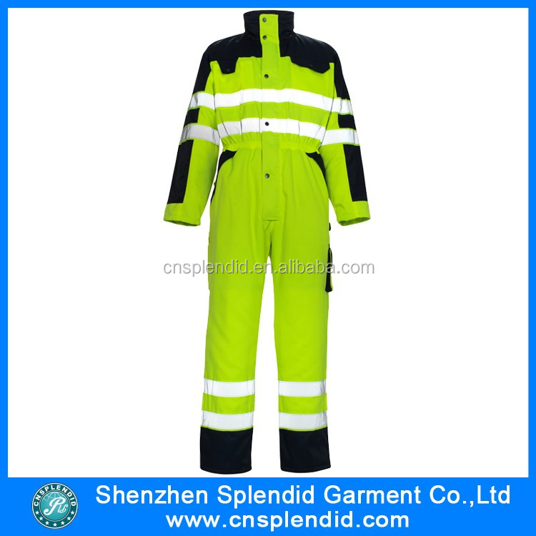 Winter clothing fireproof electrician coverall workwear