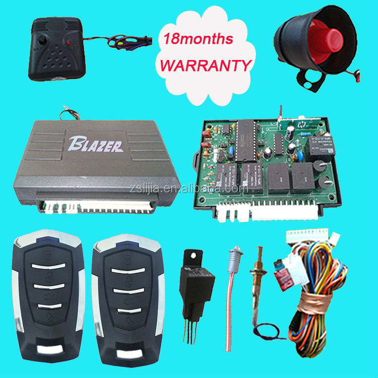 Auto security Most Cheapest Price Highest quality blazer car alarms factory supply