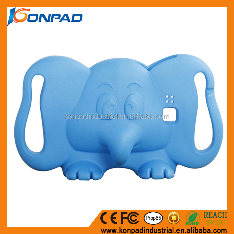 Silicone animal shape covers for kids 9.7 inch tablet case 9.7inch tablet cover tablet pc cases