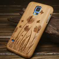 Bamboo mobile case for Samsung s5 case/Wood mobile phone case