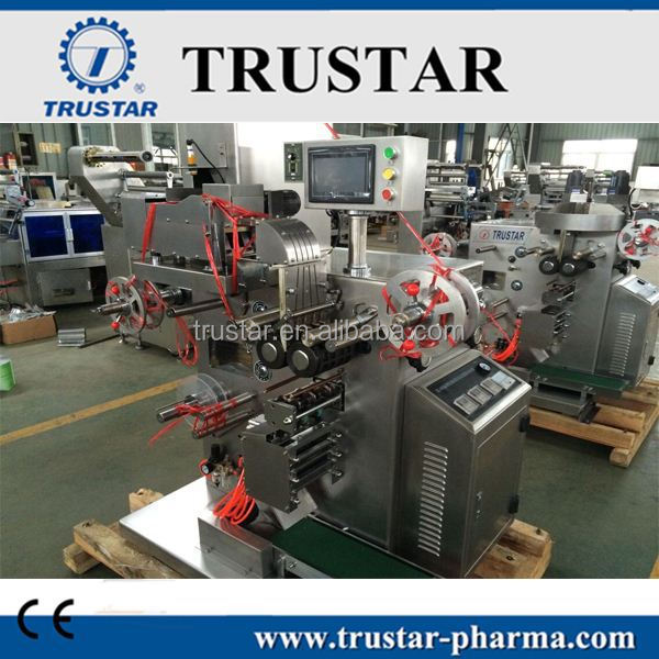 Factory price fully automatic small strip packing machine for pharmaceutical